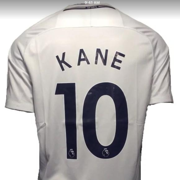 info for 4f808 e24f3 2017-18 Harry Kane #10 Mens White Soccer Jersey NWT